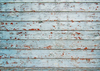 Grunge background old sky blue wood backdrop