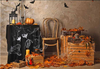 Halloween pumpkin backdrops In a small room-cheap vinyl backdrop fabric background photography
