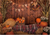 Autumn pumpkin backdrops with hay Thanksgiving background