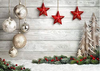Christmas photography backdrop with snow-cheap vinyl backdrop fabric background photography