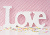 Valentine's day photography backdrop white letter-cheap vinyl backdrop fabric background photography