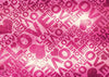 Fuchsia backdrop with letters for Valentine's day-cheap backgrounds high quality