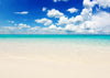 Summer background azure sea and sky backdrop