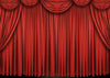 Stage photography backdrop red theater curtain-cheap vinyl backdrop fabric background photography