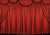 Stage photography backdrop red theater curtain