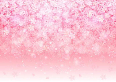 Fantasy pink flower backdrop background-cheap vinyl backdrop fabric background photography