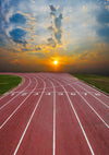 Track and field sports backdrop runway-cheap vinyl backdrop fabric background photography