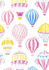 Colorful hot air balloon pattern backdrop for child-cheap vinyl backdrop fabric background photography