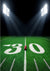 Child photography backdrop sports field football turf
