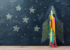 Chalkboard backdrop back to school photo-cheap vinyl backdrop fabric background photography
