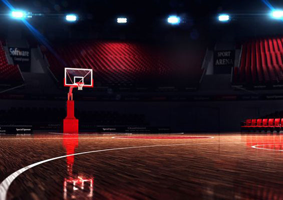 Basketball Court Background Sports Backdrop For Sale