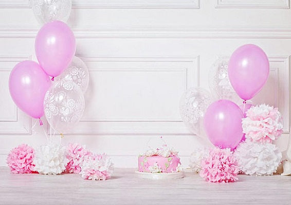 Baby Girl Backdrop Cake Smash Birthday For Sale Whosedrop