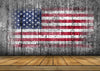 Independence day American flag backdrop grey wooden-cheap vinyl backdrop fabric background photography