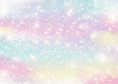 Birthday backdrop for unicorn photo bokeh background-cheap vinyl backdrop fabric background photography
