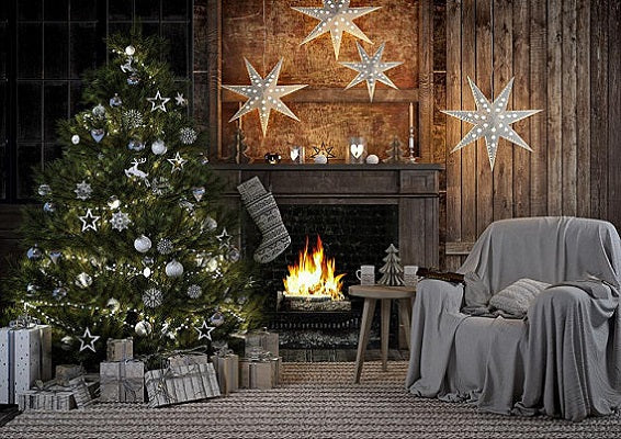 Christmas Fire Place Images.Photo Backdrop Photography Backdrops Vinyl Photography Backdrops Alternative Backdrops