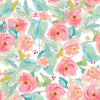 Pastel watercolor floral backdrop for newborn-cheap vinyl backdrop fabric background photography