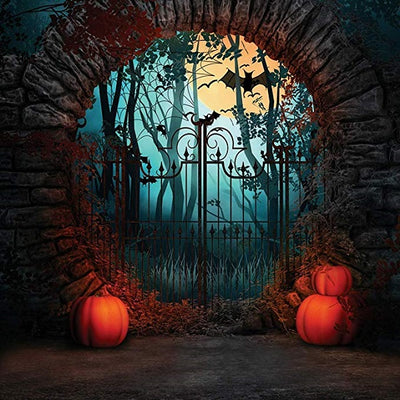 Halloween theme background horror night backdrop