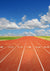 Track and field runway background sports backdrop