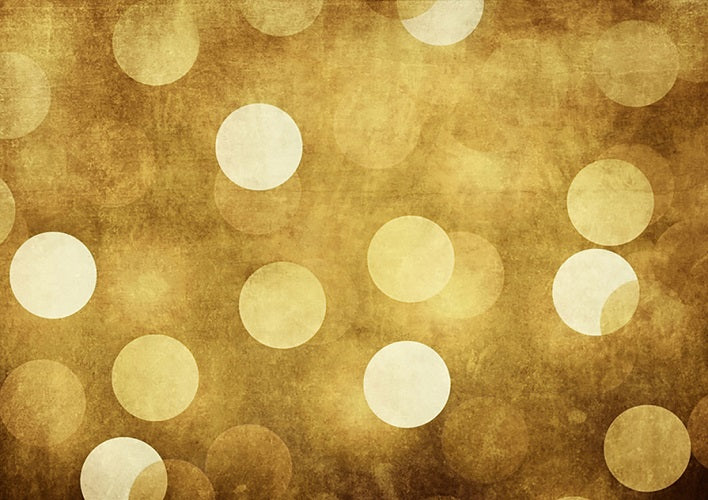 Yellow bokeh backdrop for children photography-cheap vinyl backdrop fabric background photography