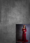 Wine red maternity dress combination-cheap vinyl backdrop fabric background photography