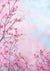 Watercolor pink Floral Wall Photography Backdrop