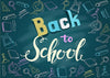 Back to school chalkboard tag photography backdrop-cheap vinyl backdrop fabric background photography