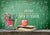 Back to school chalkboard tag photography backdrop