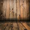 Brown wooden walls and wooden floor backdrop-cheap vinyl backdrop fabric background photography