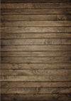 Brown wood barn Rubber Floor Mat - whosedrop
