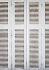 White Louvered Door photography backdrops Photos