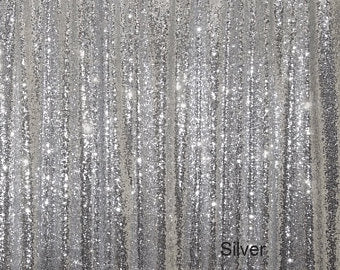 Sliver Sequin Backdrops for Photography Photo Booth for birthday/party-cheap vinyl backdrop fabric background photography