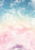 Children/Newborn photography backdrop colorful clouds