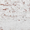 Grunge backdrop white brick wall background-cheap vinyl backdrop fabric background photography