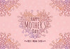 Pink backdrop Mother's Day photo background