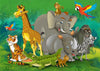Forest backdrop animal world for children-cheap vinyl backdrop fabric background photography