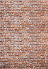 Vintage backdrop red brick wall background