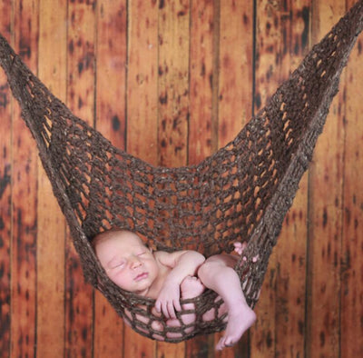 Newborn Baby Photography Props Hanging Cocoon for Photo Shoot Knitted Hanging Bed -custom backdrop whose drop