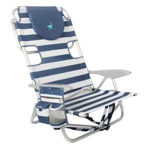 PRE-ORDER NOW - SHIPS MID NOVEMBER - NEW - Ostrich Deluxe On Your Back Chair with Cooler Bag Compartment