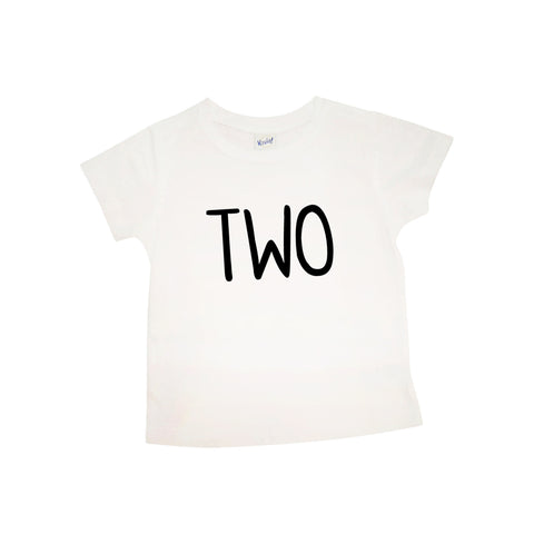 "Second Birthday ""TWO"" 