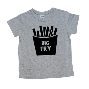 Big Fry Shirt, Pregnancy Announcement, Sibling Shirt Girl or Boy 552