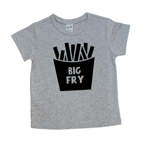 Big Fry Shirt | Short Sleeve Shirt | Pregnancy Announcement, Siblings, Girls, Boys | 552