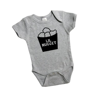 Lil Nugget | Onesie, Shirt | Pregnancy Announcement, Sibling, Boys, Girls | 554