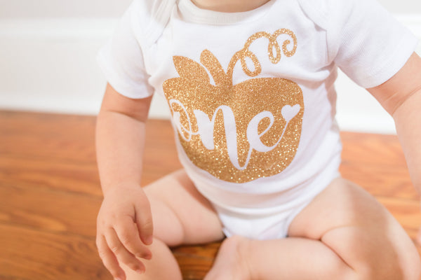 """One"" with Heart Pumpkin 