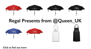 Reigning umbrellas from Queen_uk