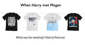 prince harry wedding to marry megan t shirts
