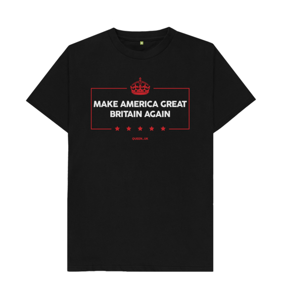 Make America Great Britain Again T-shirt ladies