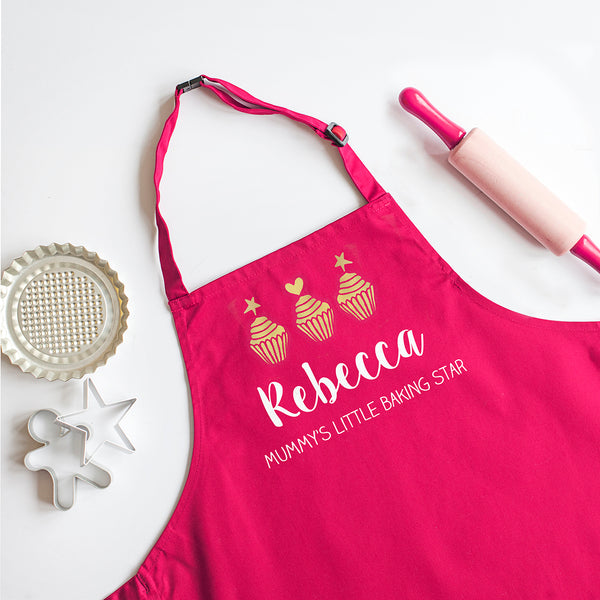 Personalised Child's Baking Apron