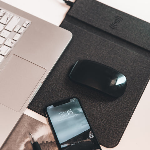 The Wireless Charging Mouse Pad