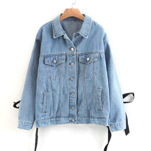 Casual Oversized Denim Coat