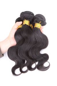 Brazilian Human Virgin Hair 100% Body Weave